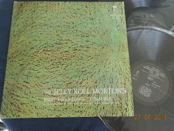 JELLY ROLL MORTON'S First Recordings - 2LP - KINGS OF JAZZ NLJ-18007/18008