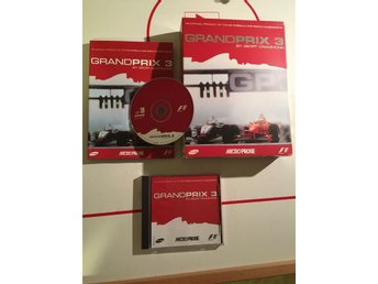 Grandprix / Grand Prix 3 CIB 1999 Rare Big Book / Box Game Fint Skick Sälsynt!
