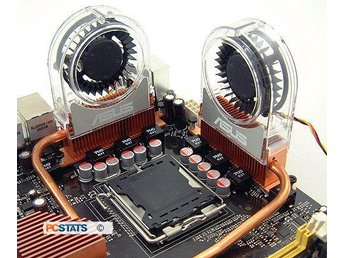 ASUS Optional Heatpipe Cooling Fan - Bälinge - ASUS Optional Heatpipe Cooling Fan - Bälinge