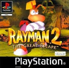 Rayman 2 The great escape Playstation PS1 PAL