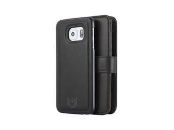 Samsung Galaxy S7 Edge - MAGNETO VINTAGE - LEATHER BLACK
