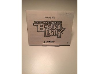 Nintendo NES The Adventures Of Bayou Billy SCN