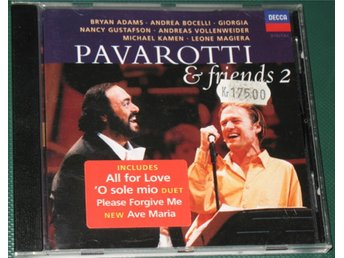 Pavarotti & Friends 2 -- 1995 -- Decca -- CD