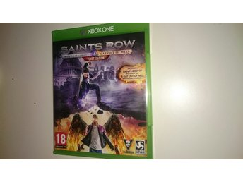 Saints Row The United Saints of American & Gat Out Of Hell Xboxone