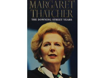 The Downing Street Years, Margaret Thatcher (Storpocket Eng)