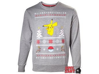 Pokemon Pikachu Christmas Sweater (Large)