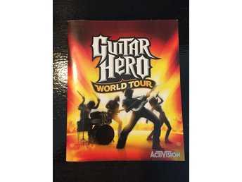 Guitar Hero: World Tour - manual (PS3)
