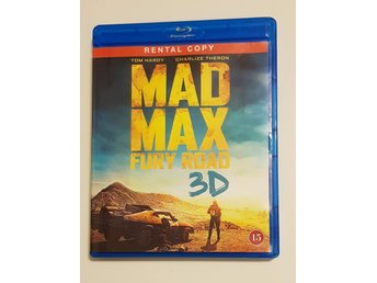 Mad Max - Fury Road 3D Bluray