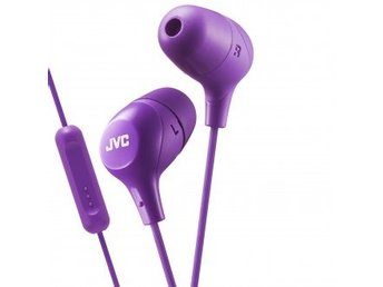 JVC Hörlur Marsmallow In-Ear Mic Lila