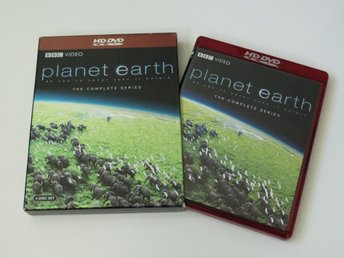 PLANET EARTH: THE COMPLETE SERIES (HD DVD) 4-disc box