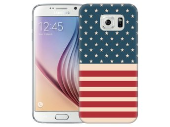 Samsung Galaxy S6 Skal Usa Flagga