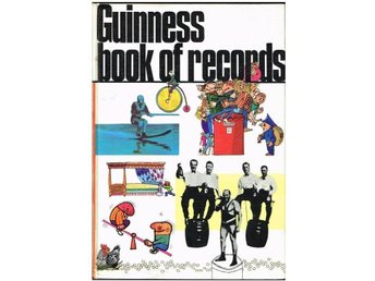 GUINNESS BOOK OF RECORDS 1971 EDITION (Edition 17)