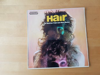 LP,  Hair - Rock musical / vinyl 60 tal / 1969