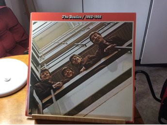 THE BEATLES  - 2 LP - 1962 - 1966 - APPLE RECORDS
