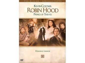Robin Hood Prince of Thieves - 2-disc Förlängd Version (Kevin Costner)