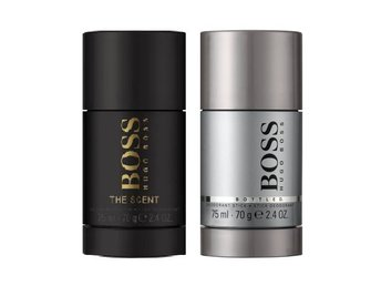 2 Pack Deodorant hugo boss the scent 75ml +boss bottled deostick pris 580kr