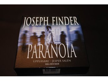 CD-bok: Joseph Finder - Paranoia