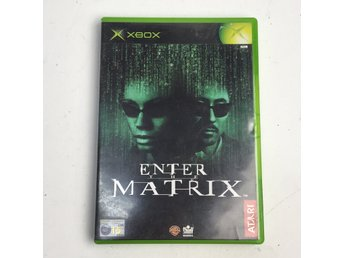 XBOX, Xbox-spel, 2 St, Sega GT2002, Enter The Matrix
