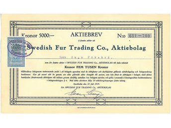 Swedish Fur Trading Co. AB