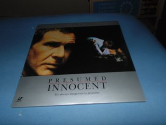 Presumed Innocent - Widescreen edition - 2st Laserdisc