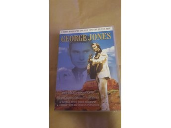 George Jones - A Video Biography And Live Concert (DVD)