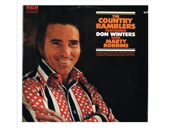 "THE COUNTRY RAMBLERS feat. DON WINTERS sing Marty Robbins - LP ""cut out"" (1971)"