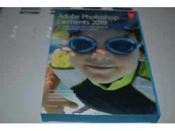 Adobe Photoshop Elements 2019 för fotoredigering