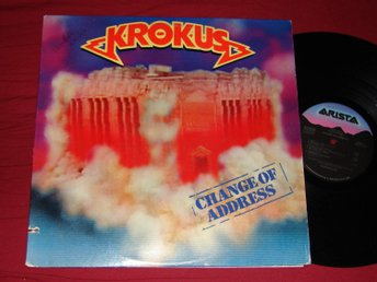 KROKUS - Change of address  Arista USA -86 LP