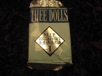 THEE DOLLS COLLECTOR'S SERIE 1 BOOSTER PAKET