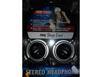 DJ Stereo Headphones  IMG Stage line  MD-380