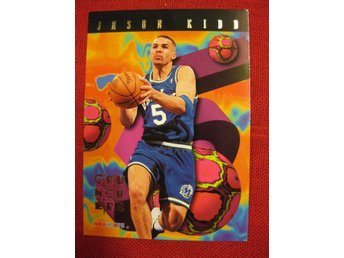 JASON KIDD - CRUNCHERS - 1995 SKYBOX HOOPS  - BASKET