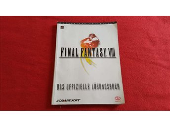 SPELGUIDE FINAL FANYASY VIII 8 till Sony Playstation