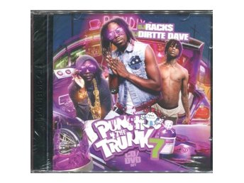 DJ Rack$ - Punch 4 The Trunk 7 - 2CD + DVD - Promo - NEW