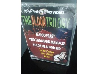 THE BLOOD TRILOGY (Herschell Gordon Lewis) *Special Edition Boxset* 3 Discar OOP