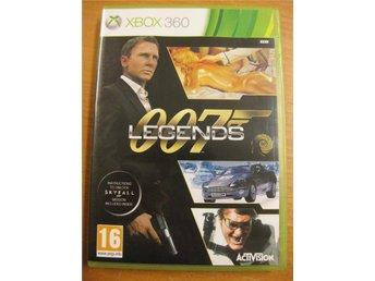 007 LEGENDS - JAMES BOND - KOMPLETT MED MANUAL - XBOX360 SPEL - Hörby - 007 LEGENDS - JAMES BOND - KOMPLETT MED MANUAL - XBOX360 SPEL - Hörby