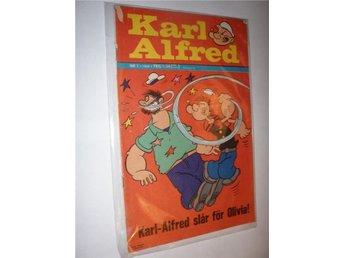 Karl Alfred Serietidning 1969 Nr 01 - Farsta - Karl Alfred Serietidning 1969 Nr 01 - Farsta