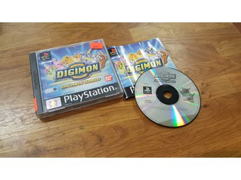 DIGIMON RUMBLE ARENA KOMPLETT PS1