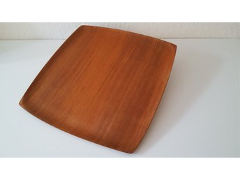 N.C.C. bricka teak design Shigemichi Aomine Japan 50-tal National Crafts Council