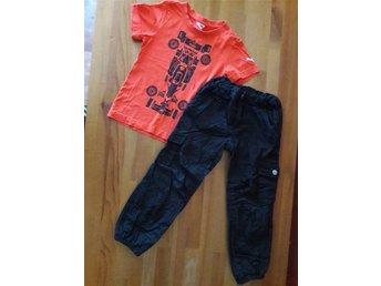 Joggingbyxor röda storlek 80 jul nyår byxor mjukisbyxor adidas