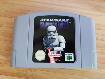 N64 Nintendo 64 spel - Star Wars - Shadows of the empire