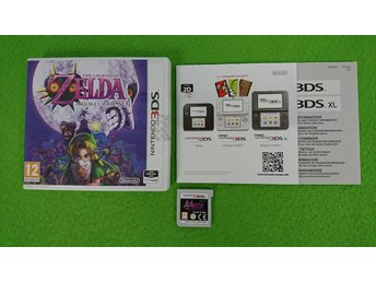 The Legend of Zelda Majoras Mask 3D SVENSK Nintendo 3DS
