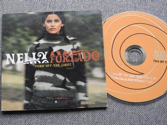 Nelly Furtado - Turn off the light CD Singel (pappfodral) I'm like a bird