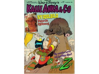 Kalle Anka & Co nr. 37 9:e September 1985 Walt Disney´s