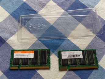 2x256Mb DDR 333MHz SODIMM PC2700 CL2.5