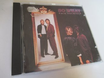 CD: SO WHAT Face Yourself (Original Virgin 1989!) Rare Swe Italo Disco!