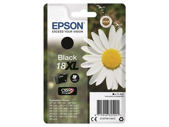 Epson C13T18114012 Black 18XL Claria Home Ink