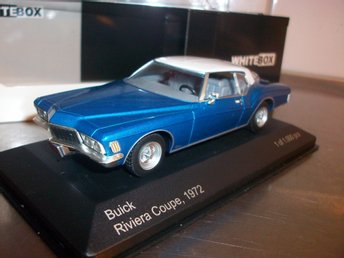Buick Rivera Coupe 2-färg 1972  limited 1:43, MINT!