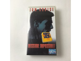 CW, VHS-film, Mission impossible, Flerfärgad
