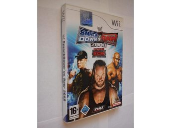 Wii: W - Smack Down Vs. Raw 2008 - Featuring ECW