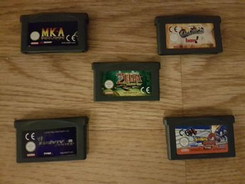 5st Game Boy Advance Spel: Inkl. Zelda Minish Cap!